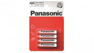 Bateria cynkowo-węglowa R03 / AAA 1,5V /blister 4szt./