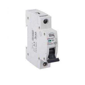 Wyłącznik nadmiarowo-prądowy, 1P KMB6-C16/1 23143