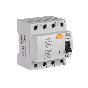 Wyłącznik różnicowo-prądowy, 4P KRD6-4/100/30-A 23198