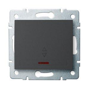 Łącznik schodowy LED DOMO 01-1140-241 gr 24904