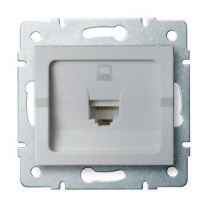 Gniazdo komputerowe pojedyncze (RJ45Cat 5e Jack) LOGI 02-1390-043 sr 25226