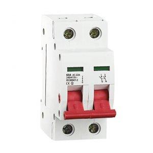 Rozłącznik izolacyjny, modułowy KMI-2/63A 27256