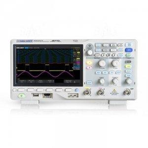 SDS2202X-E oscyloskop 200MHz/2kan, 2GSa/s, 28Mpts, 400,000 wfm/s, SPO