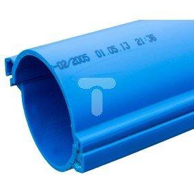 Rura dzielona gładka niebieska 110mm KHP 110 N /3m/