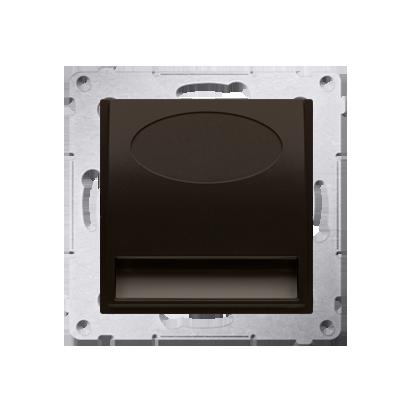 Oprawa oświetleniowa LED, 230V brąz mat, metalizowany