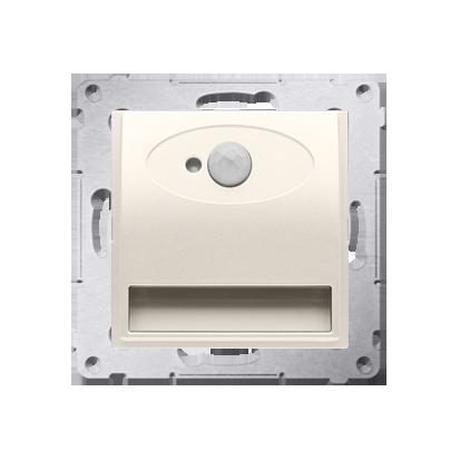 Oprawa oświetleniowa LED z czujnikiem ruchu, 14V kremowy