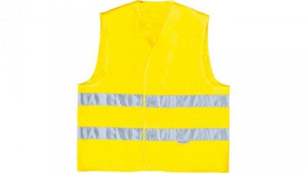 Kamizelka ostrzegawcza XXL żółta fluorescencyjna GILP2JAXX