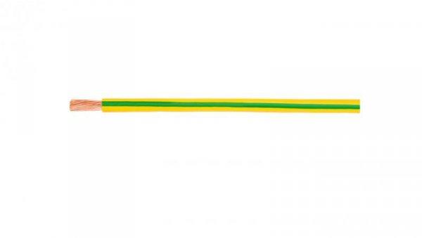 Przewód instalacyjny H07V-K (LgY) 1,5 żółto-zielony /100m/