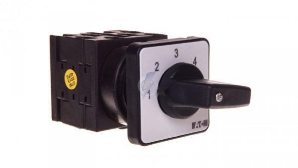 Łącznik krzywkowy 1-2-3-4-5 1P 20A do wbudowania 6,5kW T0-3-8232/E 026988