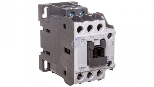 Stycznik mocy 9A 3P 230V AC 1Z 1R CTX 3 416086