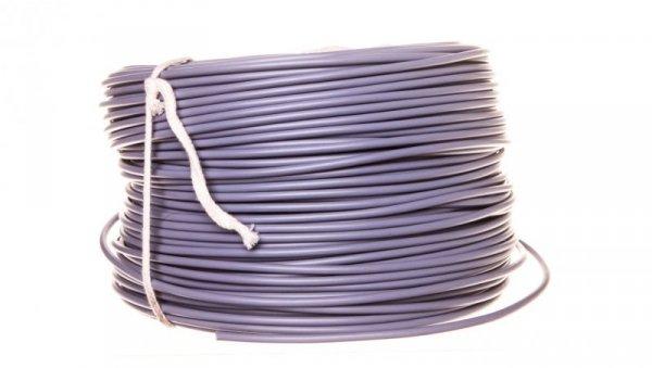 Przewód instalacyjny H07V-K (LgY) 2,5 szary /100m/