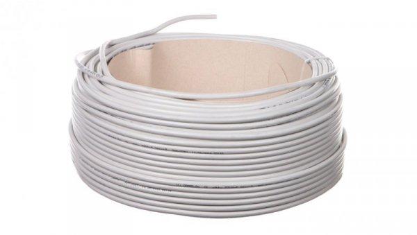Przewód mieszkaniowy H03VV-F (OMY) 3x1 biały /100m/