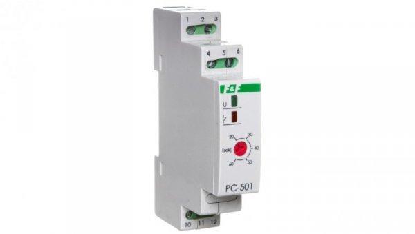 Przekaźnik czasowy 1Z 1R 0,20s-1min 230V AC PC-501