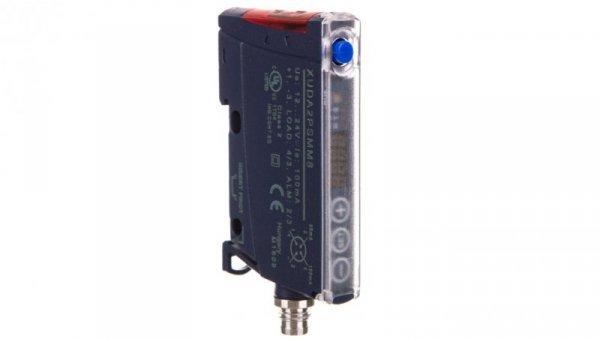 Czujnik fotoelektryczny Sn=0-10m 12/24V DC M8 NO/NZ XUDA2PSMM8