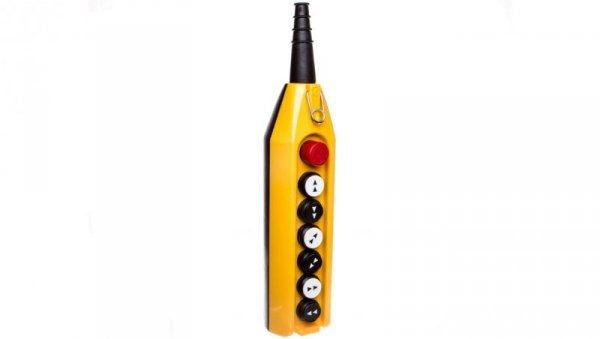Kaseta sterownicza kompletna 6 przycisków 22mm + 1 30mm T0-PV7E30B444
