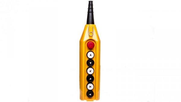 Kaseta sterownicza kompletna 6 przycisków 22mm + 1 30mm T0-PV7E30B222