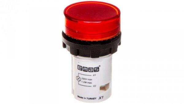 Lampka sygnalizacyjna 230V czerwona T0-MBSD220K