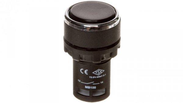 Przycisk sterowniczy monoblok czarny T0-MB100DH