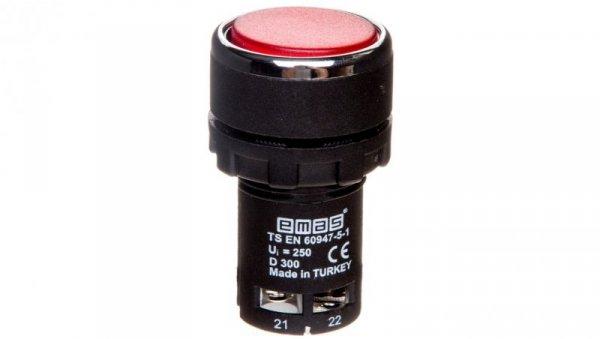Przycisk sterowniczy monoblok czerwony 2R T0-MB202DK