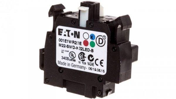 Styk pomocniczy 2P z diodą LED niebieską montaż czołowy SmartWire-DT 115979