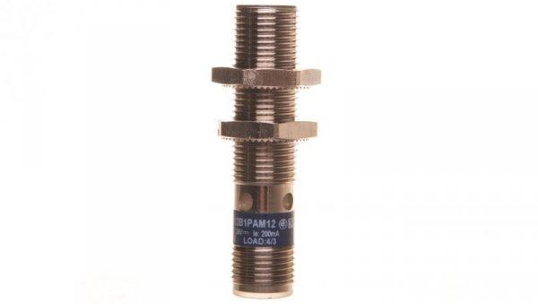 Czujnik indukcyjny M12 2mm zakryty 12-24V DC PNP 1Z M12 4-piny XS512B1PAM12