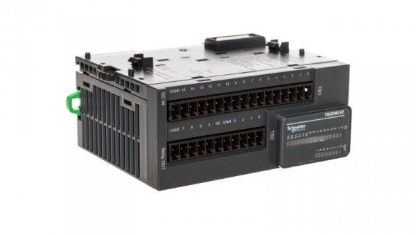Moduł 8I/O przekaźnikowy TM3-24 TM3DM24R