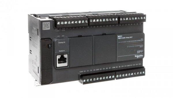 Sterownik programowalny40 I/O przekaźnikowych Modicon M221-40I/O TM221C40R