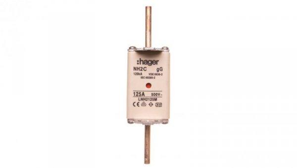 Wkładka bezpiecznikowa NH2C 125A 500V gG LNH2125M