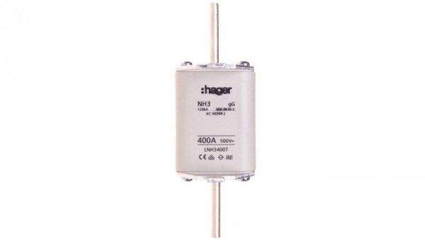 Wkładka bezpiecznikowa zwłoczna NH3C 400A AC 500V gG LNH3400T
