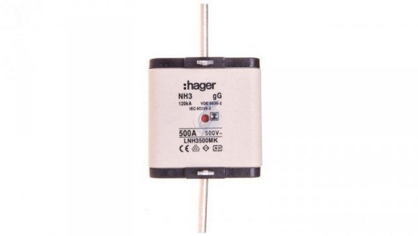 Wkładka bezpiecznikowa NH3 500A 500V gG LNH3500MK