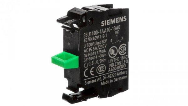 Blok styków 1Z montaż czołowy Sirius ACT 3SU1400-1AA10-1BA0