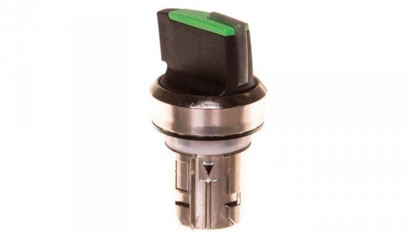 Napęd przełącznika 2 położeniowy O-I 22mm zielony z podświetleniem bez samopowrotu metal IP69k Sirius ACT 3SU1052-2BF40-0A