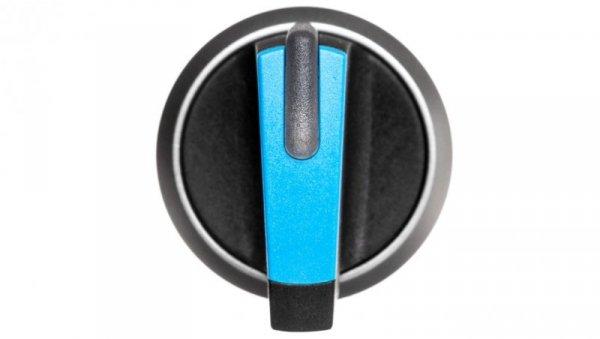 Napęd przełącznika 3 położeniowy I-O-II 22mm niebieski podświetlany bez samopowrotu plastik IP69k Sirius ACT 3SU1032-2BL50-0AA0