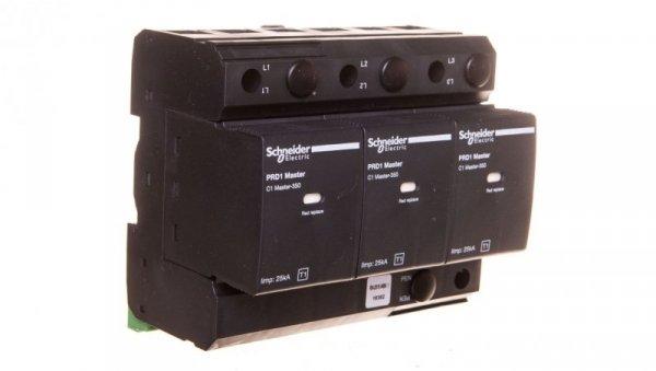 Ochronnik przeciwprzep. PRD1 Master, 3 bieg., 350 V, z sygnalizacją 16362
