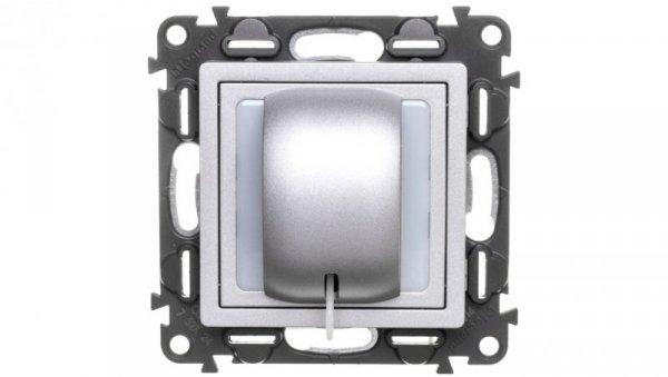 VALENA LIFE Przycisk cięgniowy aluminium 752324