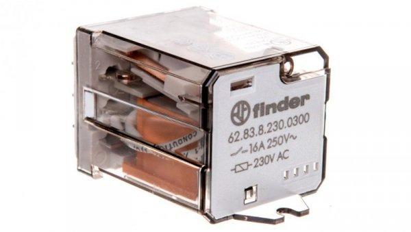 Przekaźnik 3Z 16A 230V AC na panel, Faston 250 62.83.8.230.0300