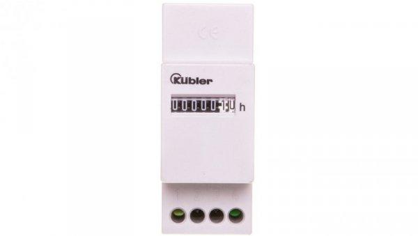 Licznik czasu pracy na szynę DIN SH17, 230V AC/ 10-27V DC 0.170.000.075.00