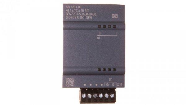 Moduł sygnałowy 1we SIMATIC S7-1200 SB 1231 TC 6ES7231-5QA30-0XB0