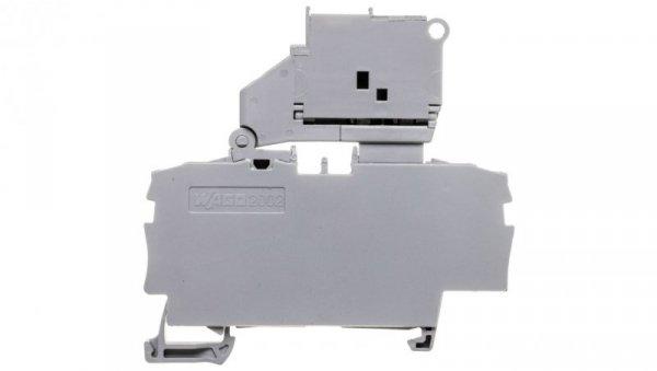 Złączka 2-przewodowa 2,5mm2 bezpiecznikowa szara TOPJOBS 2002-1611/1000-836