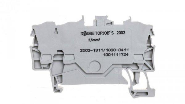 Złączka szynowa 3-przewodowa 2,5mm2 diodowa szara TOPJOBS 2002-1311/1000-411 /100szt./