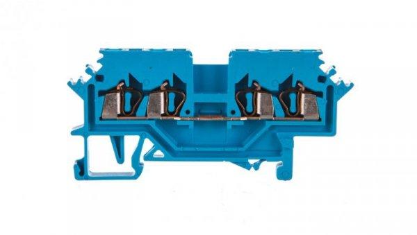 Złączka 4-przewodowa 1,5mm2 niebieska 279-604 /100szt./