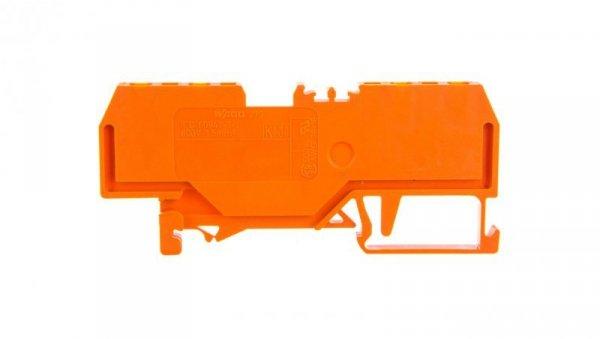 Złączka 4-przewodowa 1,5mm2 pomarańczowa 279-832 /100szt./