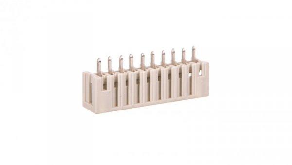 Wtyk MCS-MINI Classic 10-biegunowy jasnoszary raster 3,81mm 734-140 /100szt./