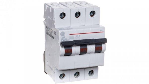 Wyłącznik nadprądowy 3P C 40A 6kA AC G63C40 674657
