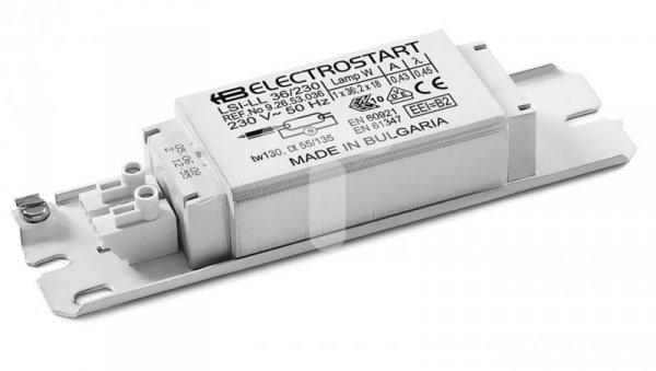 Statecznik magnetycznych do świetlówek liniwych T8 LSI-LL 58W 230V 50Hz EEI=B2 9.26.53.054