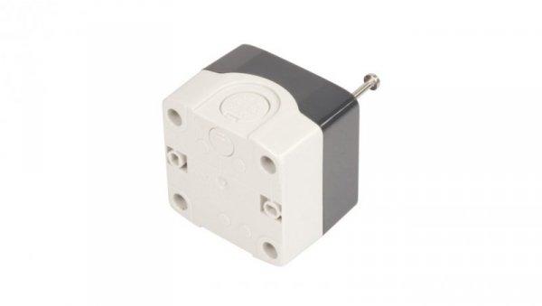Obudowa kasety 1-otworowa 22mm szara IP65 XALD01