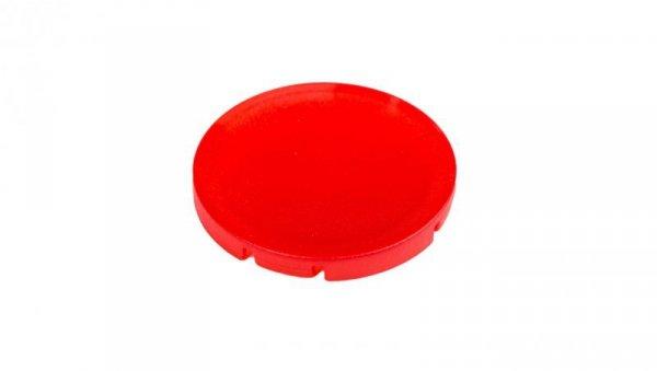 Soczewka przycisku 22mm płaska bez opisu M22-XDL-R czerwona 216442