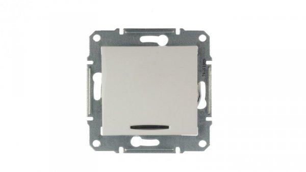 Sedna Łącznik krzyżowy 10AX z podświetleniem LED biały IP20 SDN0501121