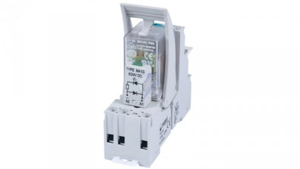 Przekaźnik interfejsowy 4P 6A 24V DC AgNi PIR4-024DC-00LD 854770