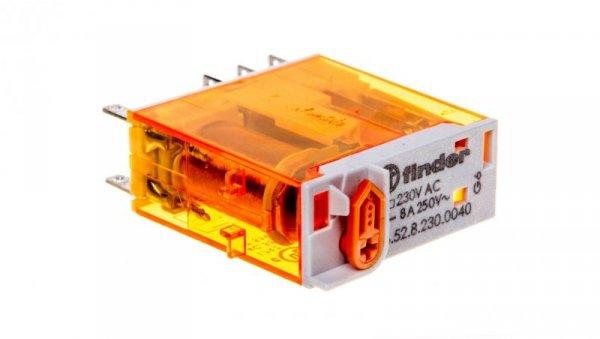 Przekaźnik przemysłowy 2P 8A 230V AC AgNi 46.52.8.230.0040